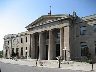 LIUNA Station railway station in Hamilton, Canada