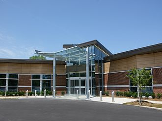 Lake Taylor Transitional Care Hospital - Beechwood Wing entrance, LTTCH