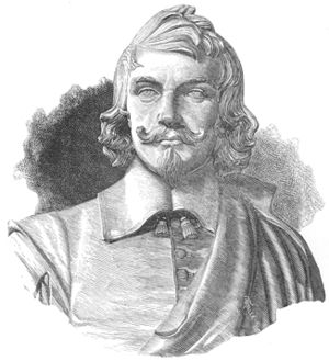 Guy de La Brosse - Drawing of a bust of Guy de La Brosse