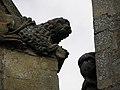 La Guerche-de-Bretagne (35) Basilique Collatéral sud Détail sculpté 11.JPG
