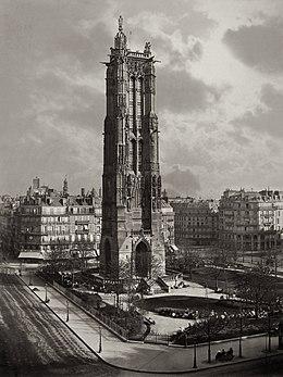 Tour saint jacques wikipedia - Tour saint jacques paris ...