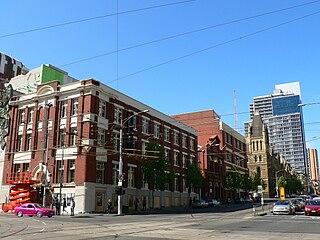 street in Melbourne, Australia