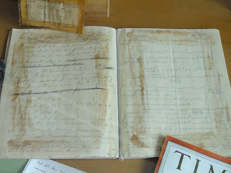 The Paper Chemistry Lab Notebook Is No Longer Able to Support a ...