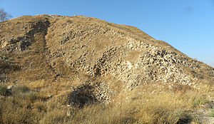 Siege of Lachish - Assyrian siege ramp