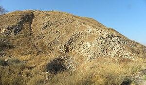 Tel Lachish - Assyrian siege ramp.