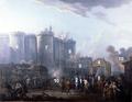 Lallemand - Arrestation du gouverneur de la Bastille - 1790 - avec chiffres.png