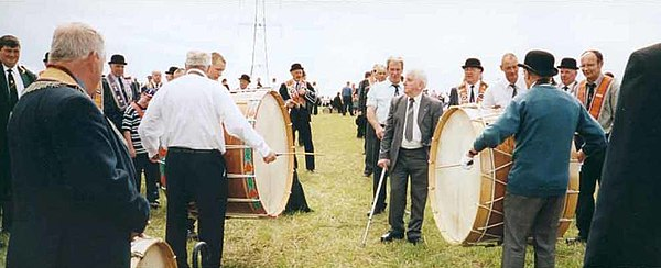 A Lambeg drumming contest, County Tyrone Lambegdrumming.jpg