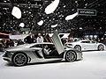 Lamborghini Aventador and Huracan , GIMS 2014 (Ank Kumar) 01.jpg