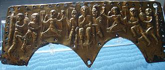 Lamellenhelm - The Agiluf helmet plate