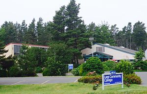Lane Community College - Satellite center in Florence, Oregon