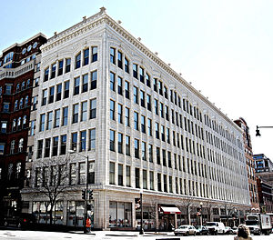 Lansburgh's - Former Downtown Washington, D.C. flagship store addition (built 1916-24)