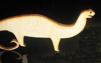 Lasersaur - The lasersaur logo, cut from 3mm plywood by a 100 watt lasersaur