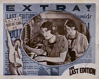 <i>The Last Edition</i> 1925 film