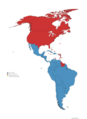 Latin America And Non Latin American Countries In America.png
