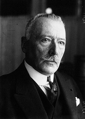 Charles François Laurent - Charles Laurent, Ambassador to Berlin in 1920