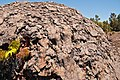 Lava Spatter Mound at Mauna Ulu in Hawaii.jpg