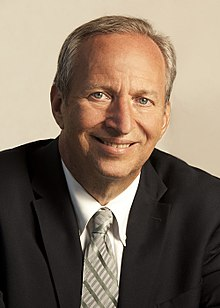Image result for larry summers+harvard