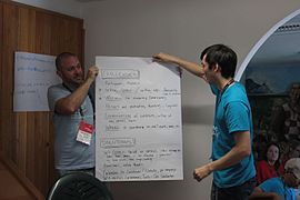 Learning Days Day 1, Wikimania 2016 Esino Lario pre-conference 19.jpg