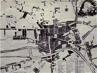 Michael Thomas Sadler - The Leeds Sadler knew: An 1806 map of Leeds.