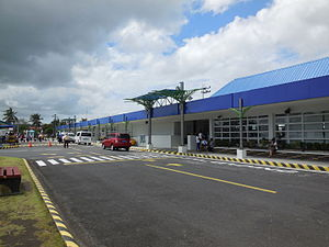 Legazpi Airport - The newly renovated Legazpi City Airport Terminal Building.
