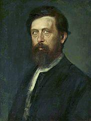 Portrait of Arnold Böcklin.
