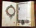 Leonardo bruni, traduzione delle epistole di platone, firenze 1450-75 ca. (bml, strozzi 65) 01.jpg