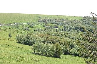 Route des Crêtes - Route des Crêtes near Hohneck
