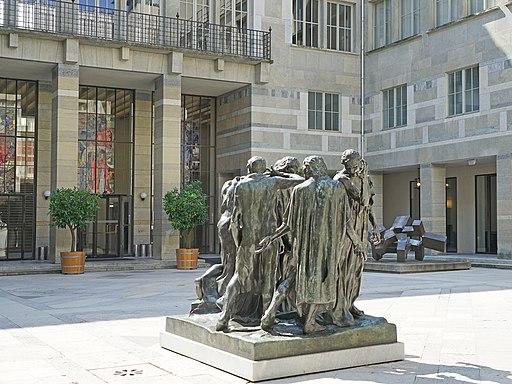 Les bourgeois de Calais d'A. Rodin (Kunstmuseum, Bâle) (28598894943)