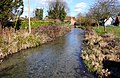 Letcombe Brook in Grove - geograph.org.uk - 1772335.jpg