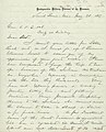 Letter signed W.T. Sherman, St. Louis, to (E.O.C.) Ord, May 28, 1867.jpg