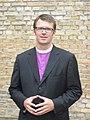 Lettischer Baptistenbischof Pēteris Sproģis.JPG