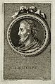 Leucippus. Line engraving by S. Beyssent after Mlle C. Reyde Wellcome V0003528.jpg