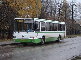 Tula, Russia - Image: Li AZ 5256 bus in Tula