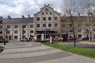 Liberec railway station Railway station in Liberec, Czech Republic