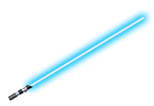 Lightsaber blue