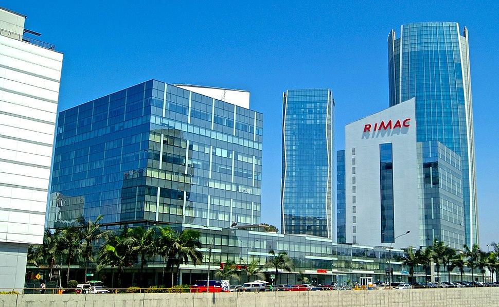 Lima Peru City Skyline San Isidro 2013
