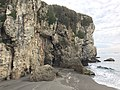 Limestone cliff at Cihou Mountain.jpg