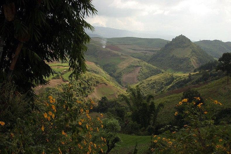 Lincang-mountains