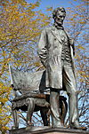 Close up of Abraham Lincoln Monument