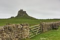 Lindisfarne Castle over wall 2016-05-29.jpg