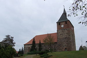 Linthe - Village church