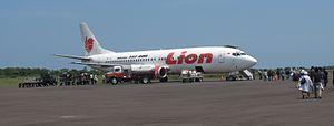 Fatmawati Soekarno Airport - Image: Lion Air PK LIS