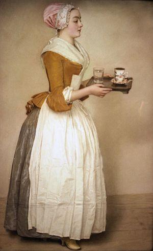 Caraco - Image: Liotard Schokoladen Maedchen