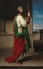 Teodorico, Rey de los Ostrogodos y del Reino ostrogodo de Italia.