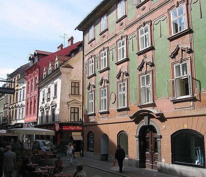 File:Ljubljana - Stari trg - Valvasorjeva hiša.jpg
