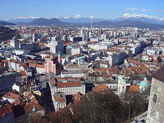 Municipalities of Slovenia - Ljubljana