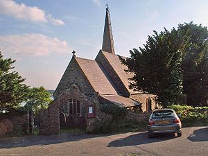 Welsh toponymy - St. Mary's, which gave its name to the village of Llanfairpwllgwyngyll, Anglesey (Ynys Môn), Wales