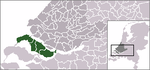 Location of Goeree-Overflakkee