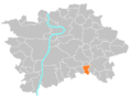 Location map municipal district Prague - Křeslice.PNG