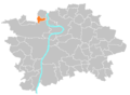 Location map municipal district Prague - Lysolaje.PNG